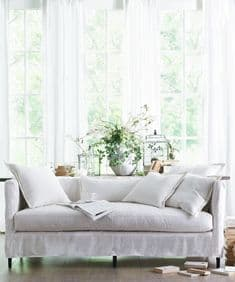 Boho&Co Home pure linen loose covers for New Romantics sofas